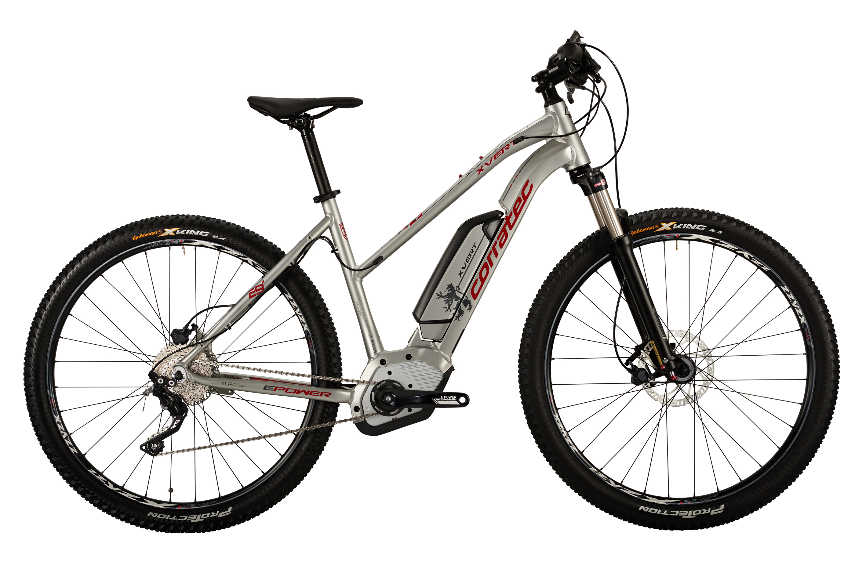 CORRATEC BK22250 X-VERT 29 - MOUNTAIN (DROP TOP TUBE) HARDTAIL