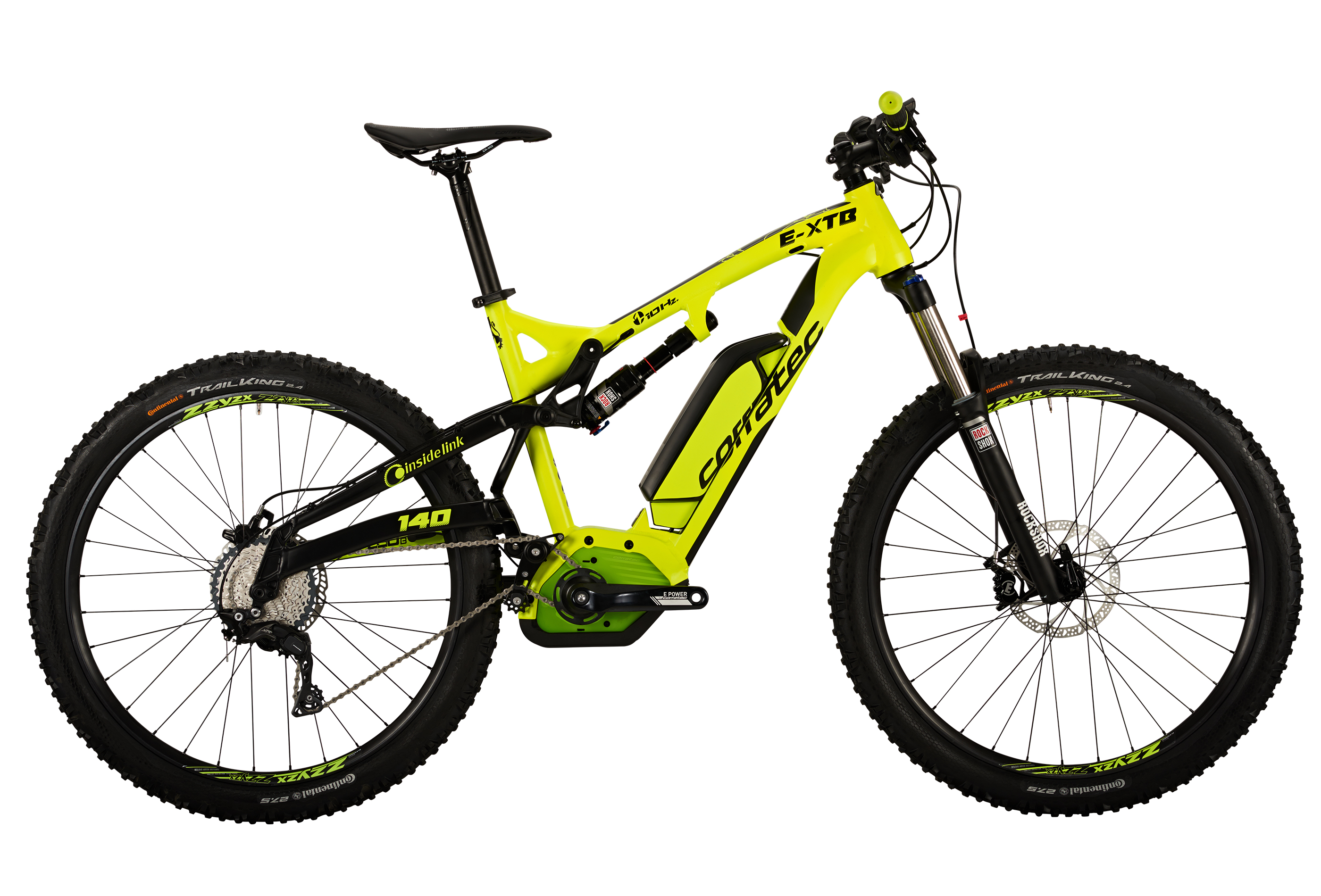 CORRATEC BK22267 E-XTB 650B - MOUNTAIN FULL SUSPENSION